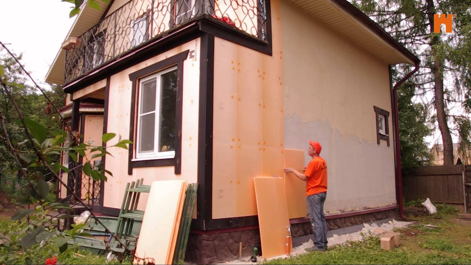 Облицовка и отделка фасадов домов
